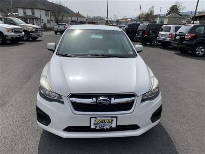 2012 WHITE SUBARU IMPREZA (JF1GPAC64CH) with an 4 engine, CVT transmission, located at 353 S. Mineral St., Keyser, WV, 26726, (304) 788-7887, 39.436451, -78.981674 - Photo #1