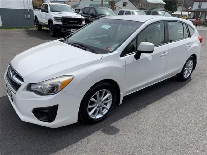 2012 WHITE SUBARU IMPREZA (JF1GPAC64CH) with an 4 engine, CVT transmission, located at 353 S. Mineral St., Keyser, WV, 26726, (304) 788-7887, 39.436451, -78.981674 - Photo #3