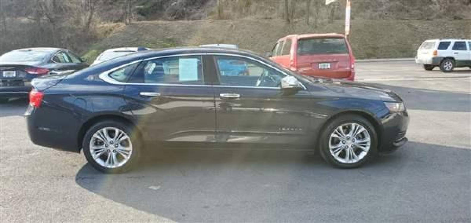 2014 BLUE CHEVROLET IMPALA (2G1125S36E9) with an 6 engine, AT transmission, located at 353 S. Mineral St., Keyser, WV, 26726, (304) 788-7887, 39.436451, -78.981674 - Photo #0